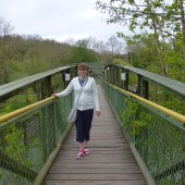On Jackfield Bridge