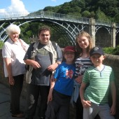 W Family at Ironbridge
